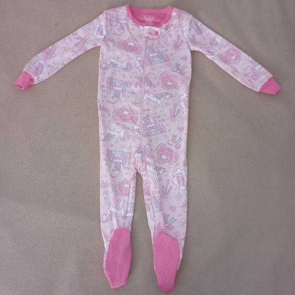 Children's Place Baby Girl Footie Pajamas